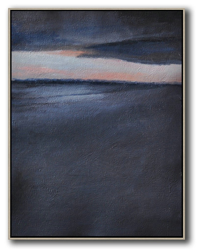 Large Abstract Art Oversized Abstract Landscape Painting Canvas Paintings For Sale Grey Pink Black Etc