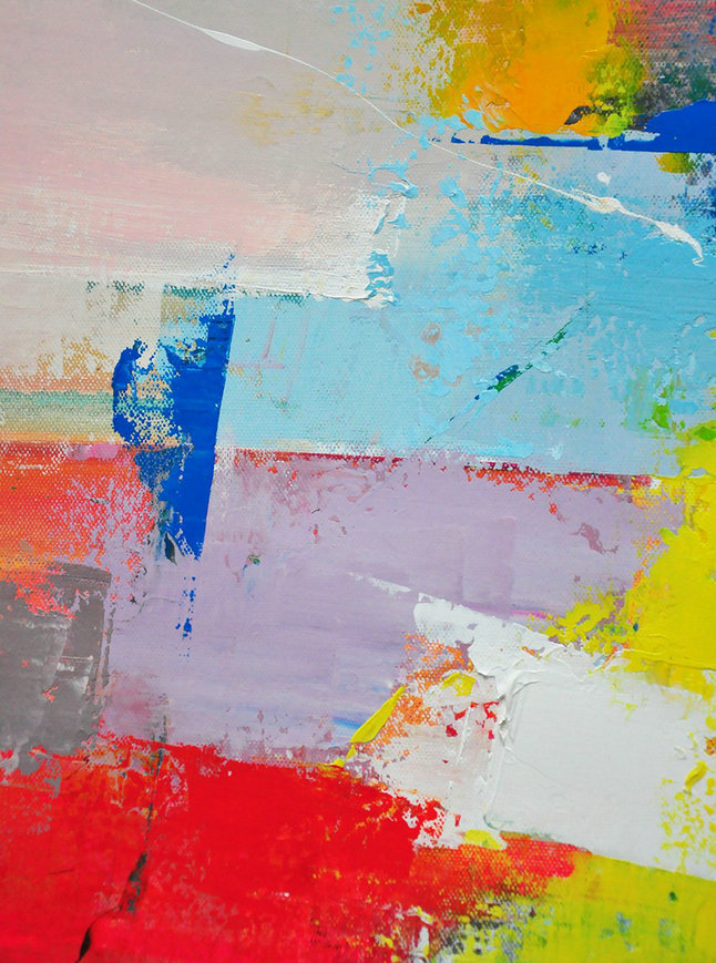 Extra Large Abstract Painting On Canvas,Palette Knife Contemporary Art Canvas Painting,Canvas Wall Paintings,Pink,Red,Blue,Yellow,Violet Ash.Etc