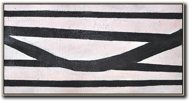 Original Artwork Extra Large Abstract Painting,Hand-Painted Oversized Horizontal Minimal Art On Canvas,Contemporary Wall Art #K9V9